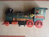 Locomotiva din tabla jucarie made in japan feroviare tren de colectie hobby