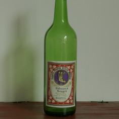 Sticla din perioada comunista - Sticla de vin Babeasca Neagra - podgoria Plaiurile Drincei - Mehedinti - eticheta originala !!!
