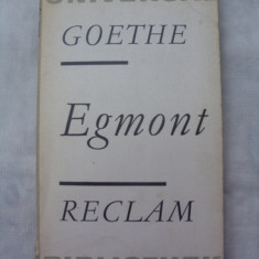 Egmont - Carte in germana