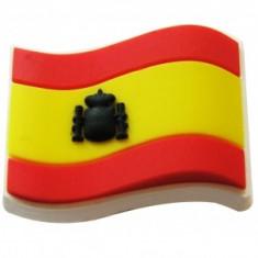 jibbitz CROCS - bijuterii/accesorii pentru saboti de guma -  Spain Flag
