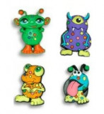 Jibbitz CROCS - bijuterii/accesorii pentru saboti de guma - Monsters