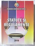 """""""STATUTE SI REGULAMENTE"""", Federatia Romana de Fotbal, 2010. Absolut noua"""