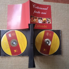 Craciunul peste ani colinde box 4 cd disc muzica sarbatori cantece craciun