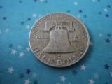 Half dollar 1954, argint