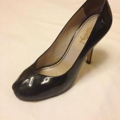 Pantofi yves saint laurent - Pantof dama Yves Saint Laurent, Culoare: Negru, Marime: 37, Negru