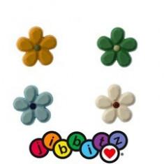 Jibbitz CROCS - bijuterii/accesorii   flower, diferite culori