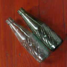 Sticla din perioada comunista - lot 2 bucati - sticla de suc !!!