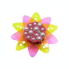 Jibbitz CROCS - bijuterii/accesorii pentru saboti  Translucent flower stars