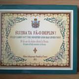 W Slujba ta fa-o deplin! - 30 de ani de slujire sfanta la Buzau - text bilingv roman - englez - Carti ortodoxe