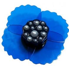 jibbitz CROCS - bijuterii/accesorii pentru saboti Translucent flower crimped