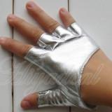 Manusi dama argintii pentru condus - marimea S - M, Vara