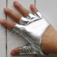 Manusi dama argintii pentru condus - marimea S - M - Manusi moto, Marime: S, Vara