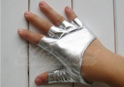 Manusi dama argintii pentru condus - marimea S - M foto