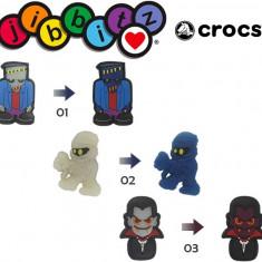 jibbitz CROCS - bijuterii/accesorii pentru saboti de guma - uv series chameleon
