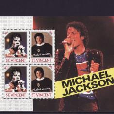 ST. VINCENT 1985 MICHAEL JACKSON - Timbre straine, Nestampilat