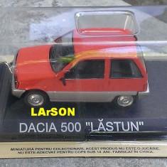 Macheta metal DeAgostini Dacia 500 LASTUN Noua+revista Masini de Legenda 35 - Macheta auto, 1:43