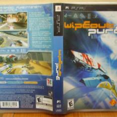 WipEout Pure (PSP) (ALVio) + sute de alte Jocuri PSP Sony (VAND / SCHIMB ), Curse auto-moto, 12+, Single player