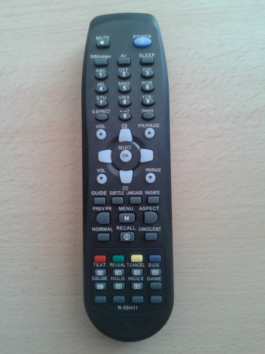 Telecomanda LCD Daewoo R-55H11, R-55G10, DLP-22W4, DLP-32C3, DLP-42C1, DLP-32C3FB, DLP32C2F, DLP-37C3, DLP-26C3, DLP-26C2, DLP-32C1, DLP-32C2,