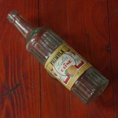 Sticla din perioada comunista - Primula - Lichior de Caise - eticheta originala !!!