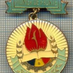 815 INSIGNA(MEDALIE)  - PIONIER DE FRUNTE -DISTINS CU TITLUL PIONIER DE FRUNTE -starea care se vede