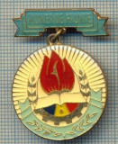 814 INSIGNA(MEDALIE)  - PIONIER DE FRUNTE -DISTINS CU TITLUL PIONIER DE FRUNTE -starea care se vede