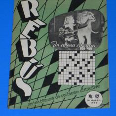 REVISTA REBUS 1959 NR 42 (00452 - Revista femei