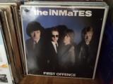 Inmates First Offence disc vinyl lp muzica punk rock New Wave power pop 1979, VINIL