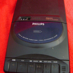 Casetofon recorder PHILIPS, 0-40 W