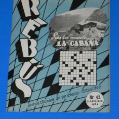 REVISTA REBUS 1959 NR 43 (00453 - Revista femei