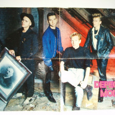 Poster- Depeche Mode - Revista Popcorn