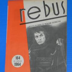 REVISTA REBUS 1964 NR 164 - NECOMPLETATA (00540 - Revista femei