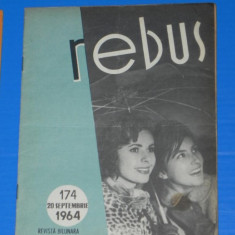 REVISTA REBUS 1964 NR 174 - APROAPE NECOMPLETATA (00550 - Revista femei