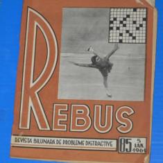 REVISTA REBUS 1961 NR 85 (00486 - Revista femei