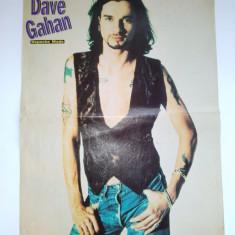 Poster Dave Gahan - Depeche Mode - Revista Popcorn