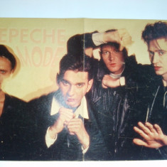 Poster - Depeche Mode - Revista Bravo