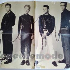 Poster - Depeche Mode - Revista Bravo, anii '80