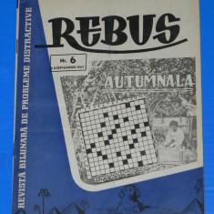 REVISTA REBUS 1957 NR 6 (00433 - Revista femei