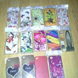 Set carcase gel TPU si silicon IPHONE 4/4S