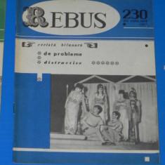 REVISTA REBUS 1967 NR 230 - NECOMPLETATA (00589 - Revista femei