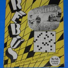 REVISTA REBUS 1959 NR 48 (00456 - Revista femei