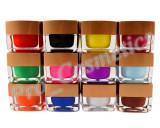 Set 12 Geluri UV color mate EzFlow, gel uv color unghii la promotie !, Gel colorat