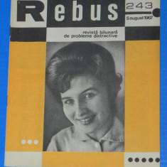 REVISTA REBUS 1967 NR 243 - NECOMPLETATA (00599 - Revista femei