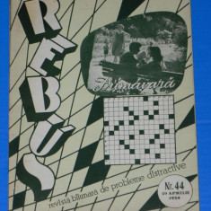 REVISTA REBUS 1959 NR 44 (00454 - Revista femei