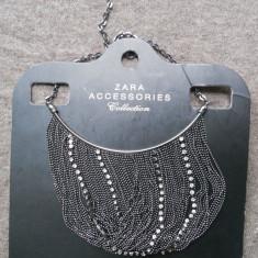 Colier lant statement ZARA Nou _pret magazin 120 ron! - Colier fashion