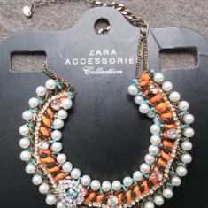 Colier lant statement ZARA Nou _pret magazin 160 ron! - Colier fashion
