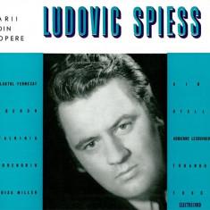 Mozart_Weber_Wagner_Verdi_Puccini_Ludovic Spiess - Recital De Arii Din Opere (Vinyl) - Muzica Opera electrecord, VINIL