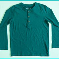 NOUA, DE FIRMA → Bluza bumbac, de calitate, ZARA → baieti | 5—6 ani | 110—116 cm, Verde