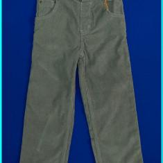NOI, DE FIRMA → Pantaloni catifea reiata, DEBENHAMS → baieti | 5—6 ani | 116 cm
