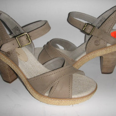 Superbe sandale dama TIMBERLAND Earth Keepers originale noi piele sz. 38!, Culoare: Gri, Piele naturala