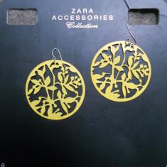 Cercei statement ZARA noi! pret magazin 60 ron! - Cercei Fashion